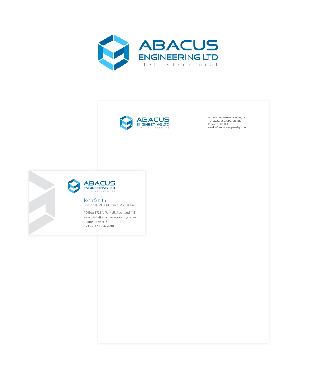 Abacus logo design and corporate identity design